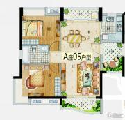 益华・山海郡2室2厅1卫85--95平方米户型图