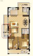 茂新三味雅筑3室1厅2卫0平方米户型图