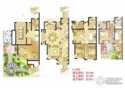 诚河新旅城3室2厅2卫330平方米户型图