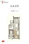 普罗理想国1室0厅0卫200平方米户型图