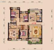 襄阳碧桂园4室2厅2卫145平方米户型图