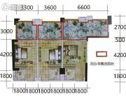凯富南方鑫城1室0厅1卫0平方米户型图