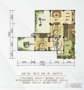 梦云南・海东方114平方米户型图