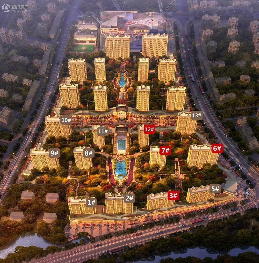 华鸿中央首府楼座图