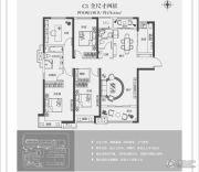 正弘高新数码港4室2厅2卫178平方米户型图