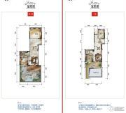 公园19034室2厅4卫177平方米户型图