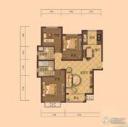 乾源・香漫花都3室2厅2卫0平方米户型图