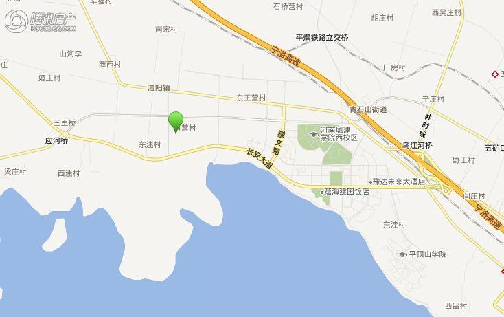 盛润广场交通图