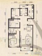 世纪雅苑3室2厅2卫0平方米户型图
