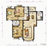 新华联运河湾3室2厅2卫143平方米户型图