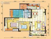 碧桂园・南城首府2室2厅1卫89平方米户型图