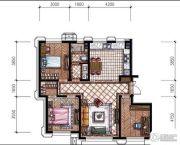 东港第3室2厅1卫104平方米户型图