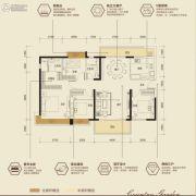 碧桂园・首座4室2厅2卫0平方米户型图