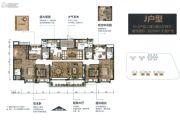 碧桂园华润・新城之光6室3厅4卫0平方米户型图