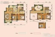 奥克斯缔壹城4室2厅2卫185平方米户型图