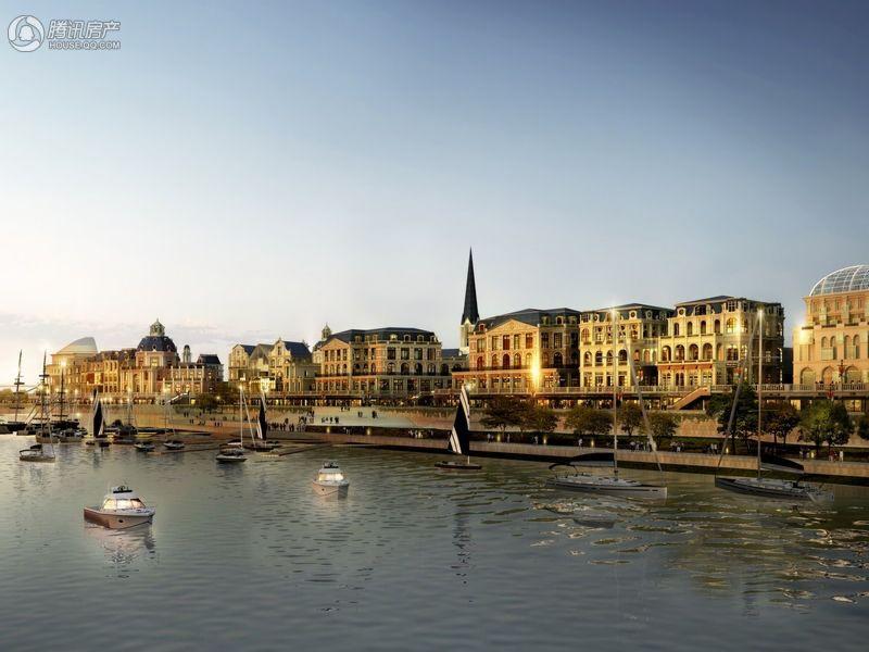 时尚娱乐,精品购物,休闲旅游等多种元素于一体的欧洲时尚浪漫的悠享