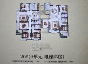 舜天嘉园3室2厅2卫136--178平方米户型图