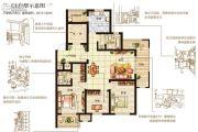 嘉洲灏庭3室2厅2卫121平方米户型图