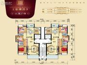 御景城3期3室2厅2卫0平方米户型图