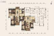 雅居乐小院流溪4室2厅2卫117--132平方米户型图