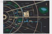 中洲里程交通图