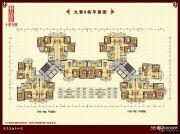 鹤山十里方圆3室2厅2卫77--136平方米户型图