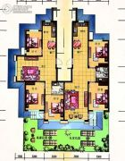 美弗霞湾2室2厅1卫97平方米户型图