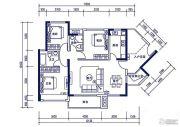 裕邦・新外滩4室2厅2卫0平方米户型图
