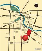 蓝鼎星河街交通图