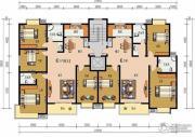申鑫名城4室2厅2卫142平方米户型图