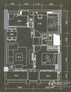 普君新城・华府2室2厅1卫81平方米户型图