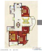 汇仙湖・金水湾3室2厅2卫0平方米户型图