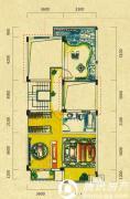 五矿龙湾别墅4室2厅3卫216平方米户型图