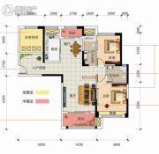 凯旋名门3室2厅2卫118平方米户型图