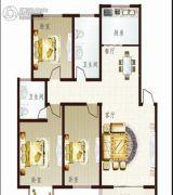 联太翡翠雅苑3室2厅2卫125平方米户型图