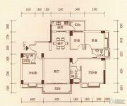 百福豪园4室2厅3卫140平方米户型图