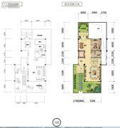 国鑫凤垭山0室0厅0卫157平方米户型图