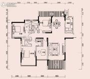 恩瑞御西湖4室2厅3卫189--192平方米户型图