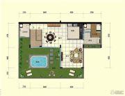 台山颐和温泉城4室3厅5卫253平方米户型图