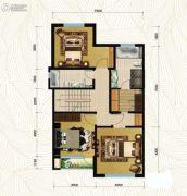 首开・国风海岸3室1厅2卫0平方米户型图