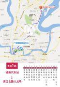 广安国际商业中心交通图
