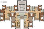 阳光福园3室2厅2卫97--98平方米户型图