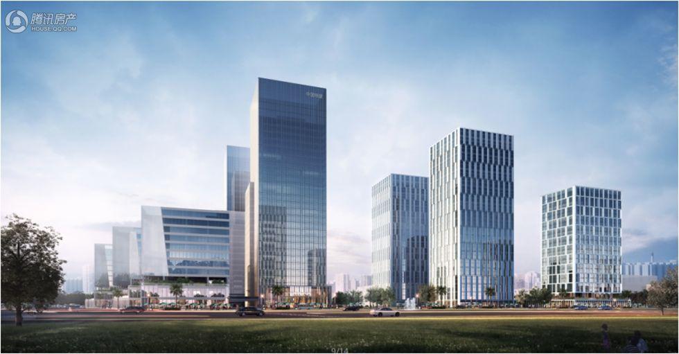 中国铁建·环球中心效果图