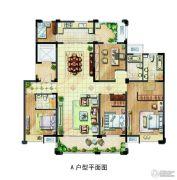 保利香槟国际5室1厅2卫195平方米户型图