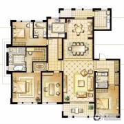 华润橡树湾4室3厅3卫258平方米户型图