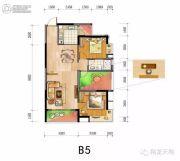 翔龙天地2室1厅1卫0平方米户型图