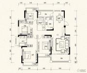 万达西双版纳国际度假区4室2厅2卫142平方米户型图