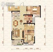 钓鱼台二期3室2厅2卫104平方米户型图