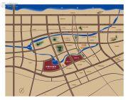 玫瑰湾・珑岸(别墅)交通图