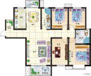 新美城上领地4室2厅2卫169平方米户型图